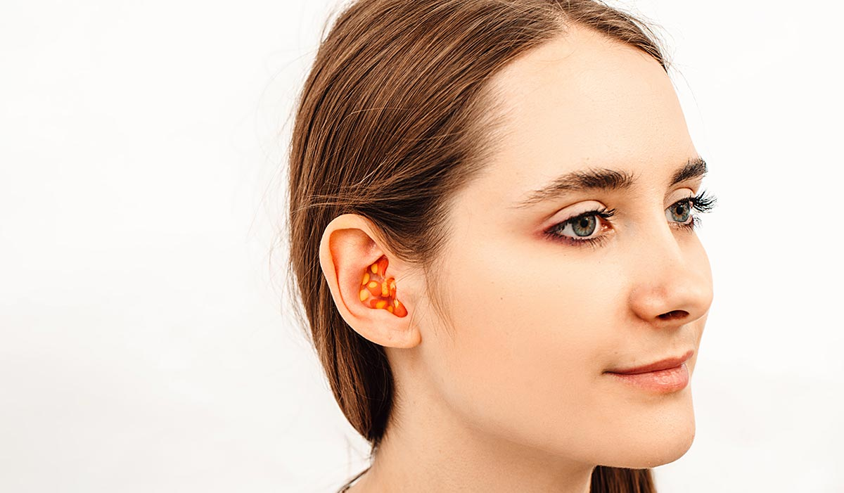 Ear plugs help to prevent swimmers ear