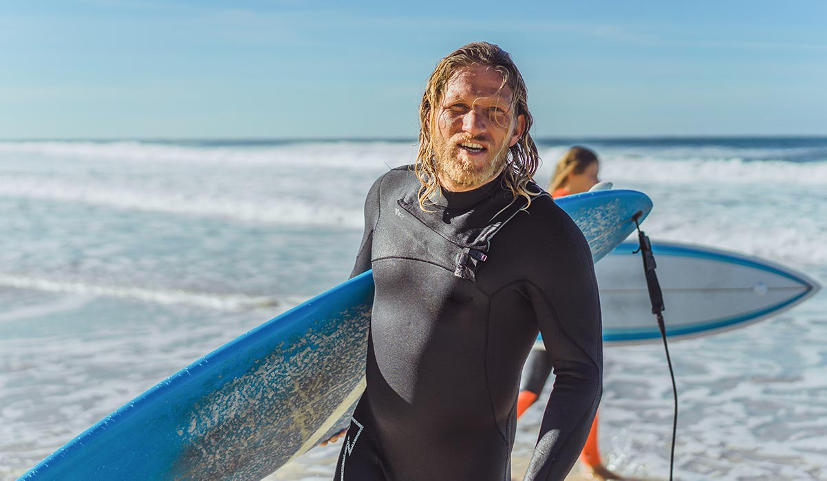 Repeated surfing in cold water increases the risk of surfers ear